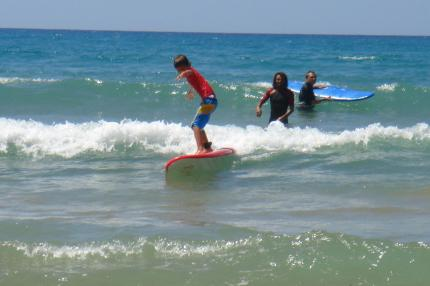 escursioni SURF school wave
