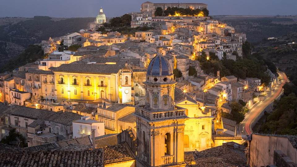itinerari Ragusa Ibla - old city